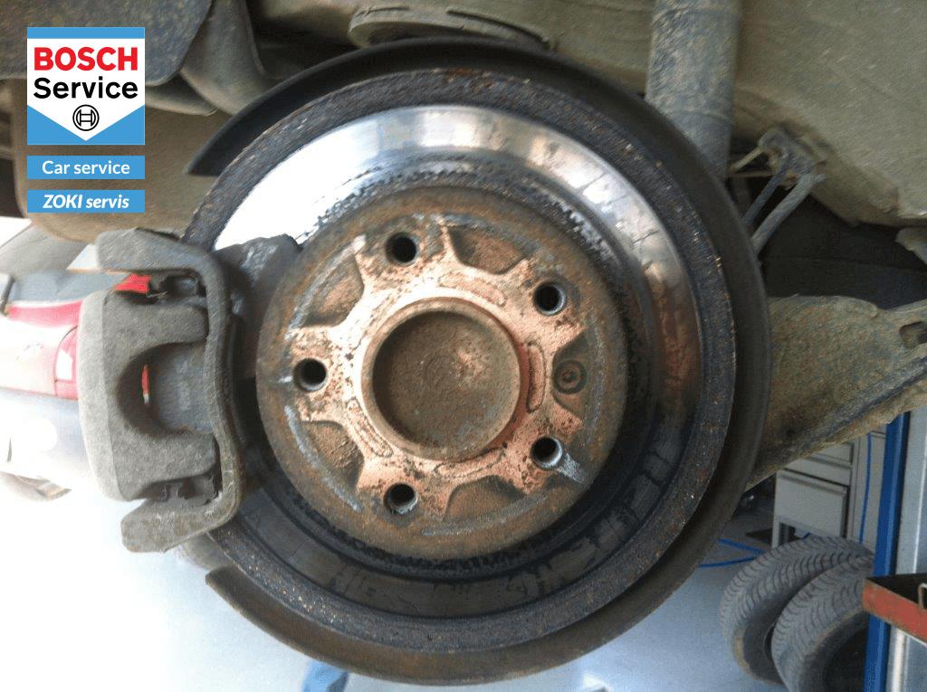 Prije - Reparacija kočionog sistema - Zoki servis - Karlovac - Bosch car service
