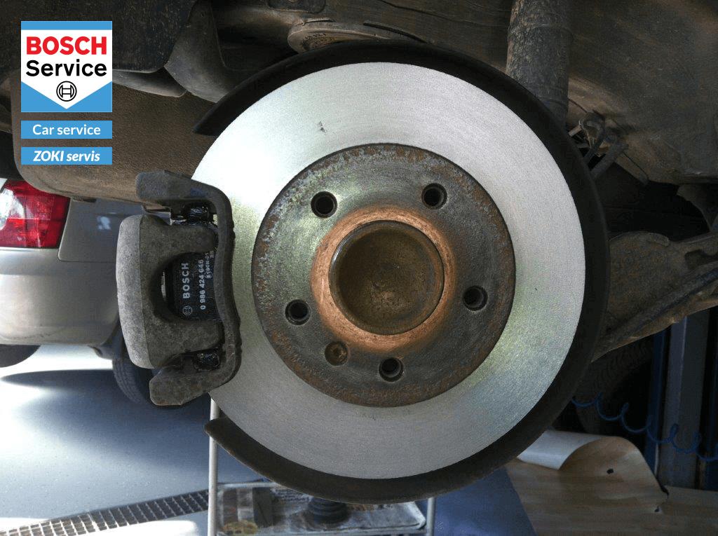 Poslije - Reparacija kočionog sistema - Zoki servis - Karlovac - Bosch car service